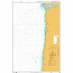 4918 Yaquina Head to Columbia River Admiralty Chart