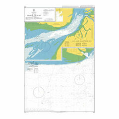 670 Ports in the Gulf of Kachchh Admiralty Chart