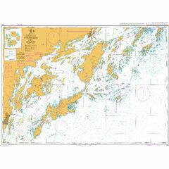 872 Nynashamn to Dalaro Admiralty Chart