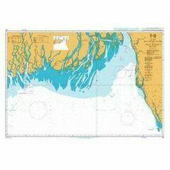 90 Malancha River to Saint Martins Island Admiralty Chart