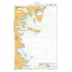 922 Hallgrund to Hornslandet Admiralty Chart