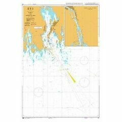 934 Umea and Approaches Admiralty Chart