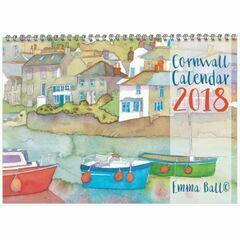 Emma Ball Cornwall Calendar 2018