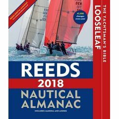 Reeds Nautical Almanac 2018 Looseleaf In Folder