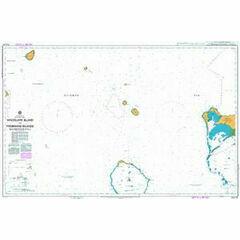 AUS515 Woodlark Island to Trobriand Islands Admiralty Chart