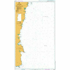 AUS806 Cape Howe to Montague Island Admiralty Chart
