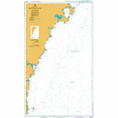 AUS807 Montague Island to Jervis Bay Admiralty Chart