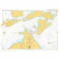 JP104 Kurushima Kaikyo and Approaches Admiralty Chart