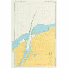 JP1155A Western Part of Niigata Ko Admiralty Chart