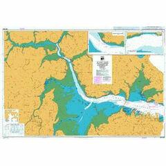 NZ5323 Auckland Harbour West Admiralty Chart