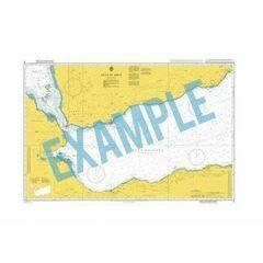IN256 India - West Coast, Murud-Janjira Hr to Malvan Admiralty Chart