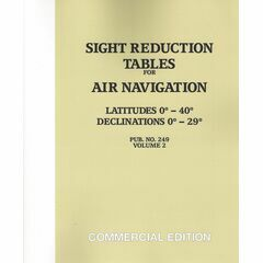 Sight Reduction Tables for Air Navigation, Volume 2
