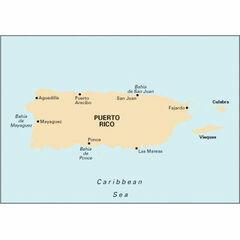 Imray Chart A1 Puerto Rico