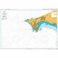 1000 Approaches to Dakar Baie de Goree Admiralty Chart