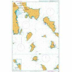 1038 Steno Sifnou to Steno Kafirea Admiralty Chart