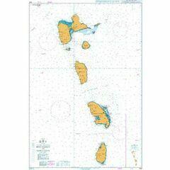 1042 Montserrat to St Lucia Admiralty Chart
