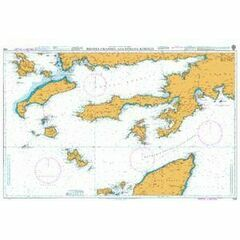 1055 Rhodes Channel to Gokova Korfezi Admiralty Chart