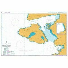 1061 Candarli Korfezi - Edremit Korfezi with Nisos Lesvos Admiralty Chart