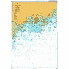 3818 Baltic Sea - Gulf of Finland, Approaches to Helsinki Admiralty Chart