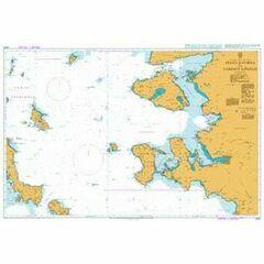 1087 Steno Kafirea to Edremit Korfezi Admiralty Chart