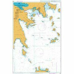 1093 Steno Andikithiron to Steno Kafirea Admiralty Chart