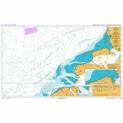 110 Westkapelle to Stellendam and Maasvlakte Admiralty Chart