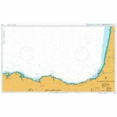 1102 Bayonne to Santander Admiralty Chart