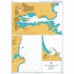 1210 Ports on the East Coast of Sardegna (Sardinia) Admiralty Chart