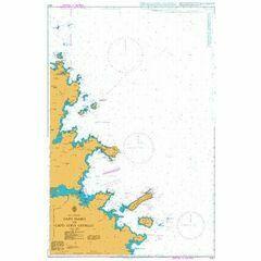 1211 Cabo Ferro to Capo Coda Cavallo Admiralty Chart