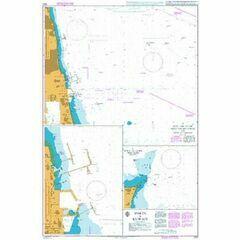 1223 Ports in Kuwait Admiralty Chart