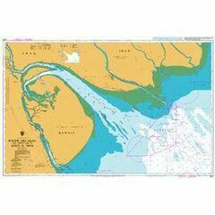 1235 Khawr `Abd Allah and Approaches to Shatt al `Arab Admiralty Chart