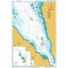 143 Jazirat at Ta'ir to Bab el Mandeb Admiralty Chart
