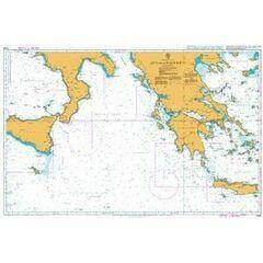 1439 Sicilia to Nisos Kriti Admiralty Chart
