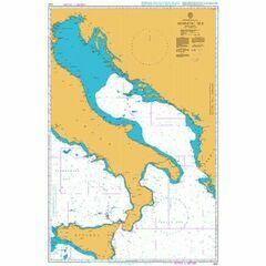 1440 Adriatic Sea Admiralty Chart
