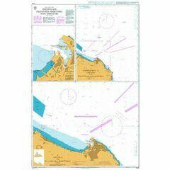 1444 Ancona & Falconara Marittima with Approaches Admiralty Chart