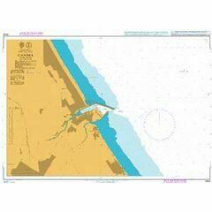 1453 Gandia Admiralty Chart