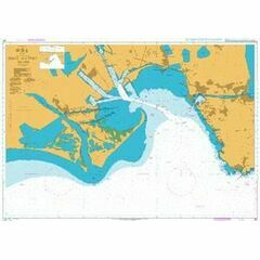 155 Golfe and port de Fos Admiralty Chart