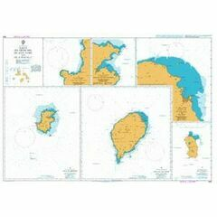 1595 Ilhas do Principe - de Sao Tome and Isla Pagalu Admiralty Chart