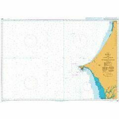 1663 Saint - Louis to Riviere Saloum Admiralty Chart