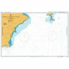 1700 Cartagena to Cabo de Antonio including Formentera Admiralty Chart