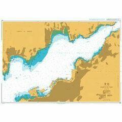 1731 Puerto de Vigo Admiralty Chart
