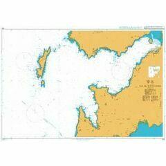1732 Ria de Pontevedra Admiralty Chart
