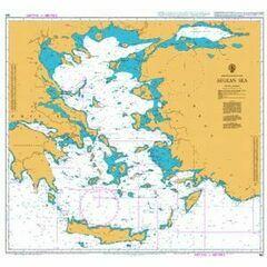180 Aegean Sea Admiralty Chart