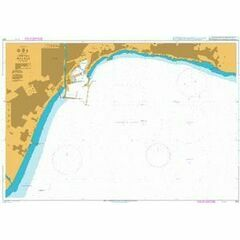 1851 Malaga Admiralty Chart