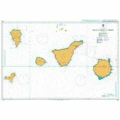 1861 Gran Canaria to Hierro Admiralty Chart