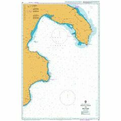 187 Punta Stilo to Brindisis (Italy SE Coast) Admiralty Chart