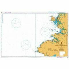 1879 Rathlin O'Birne Island to Aran Island Admiralty Chart