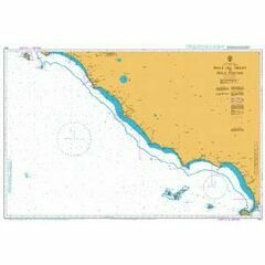 1911 Isola del Giglio to Isola D'Ischia Admiralty Chart