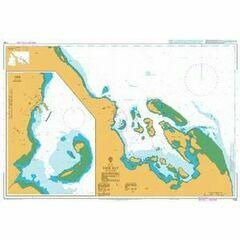 1926 Aseb Bay Admiralty Chart