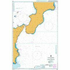 1941 Capo Passero to Capo Colonne Admiralty Chart